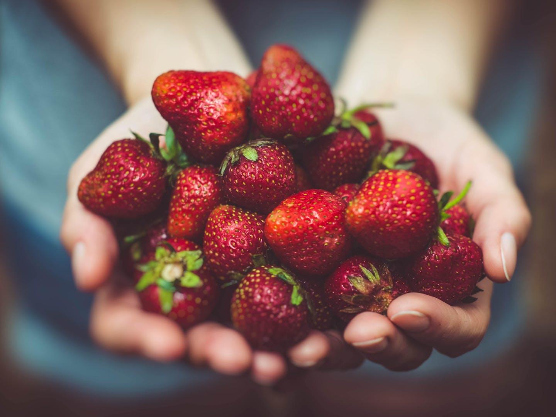 Erp manufacturing organic food strawberries