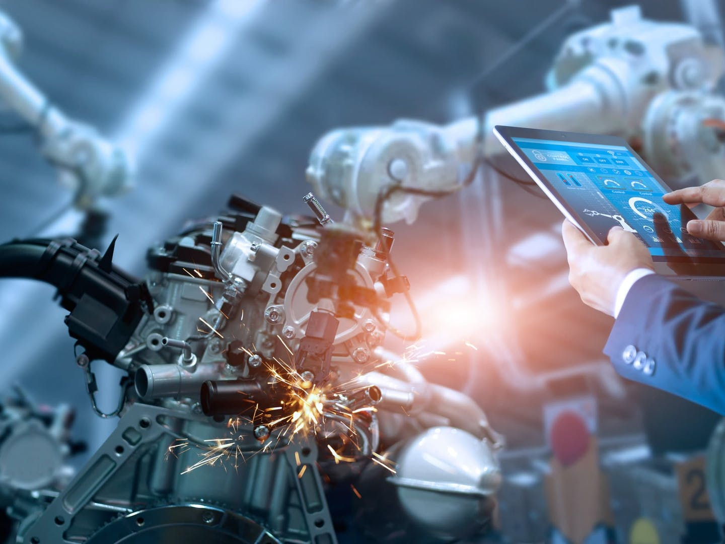 How robotics are changing the manufacturing industry