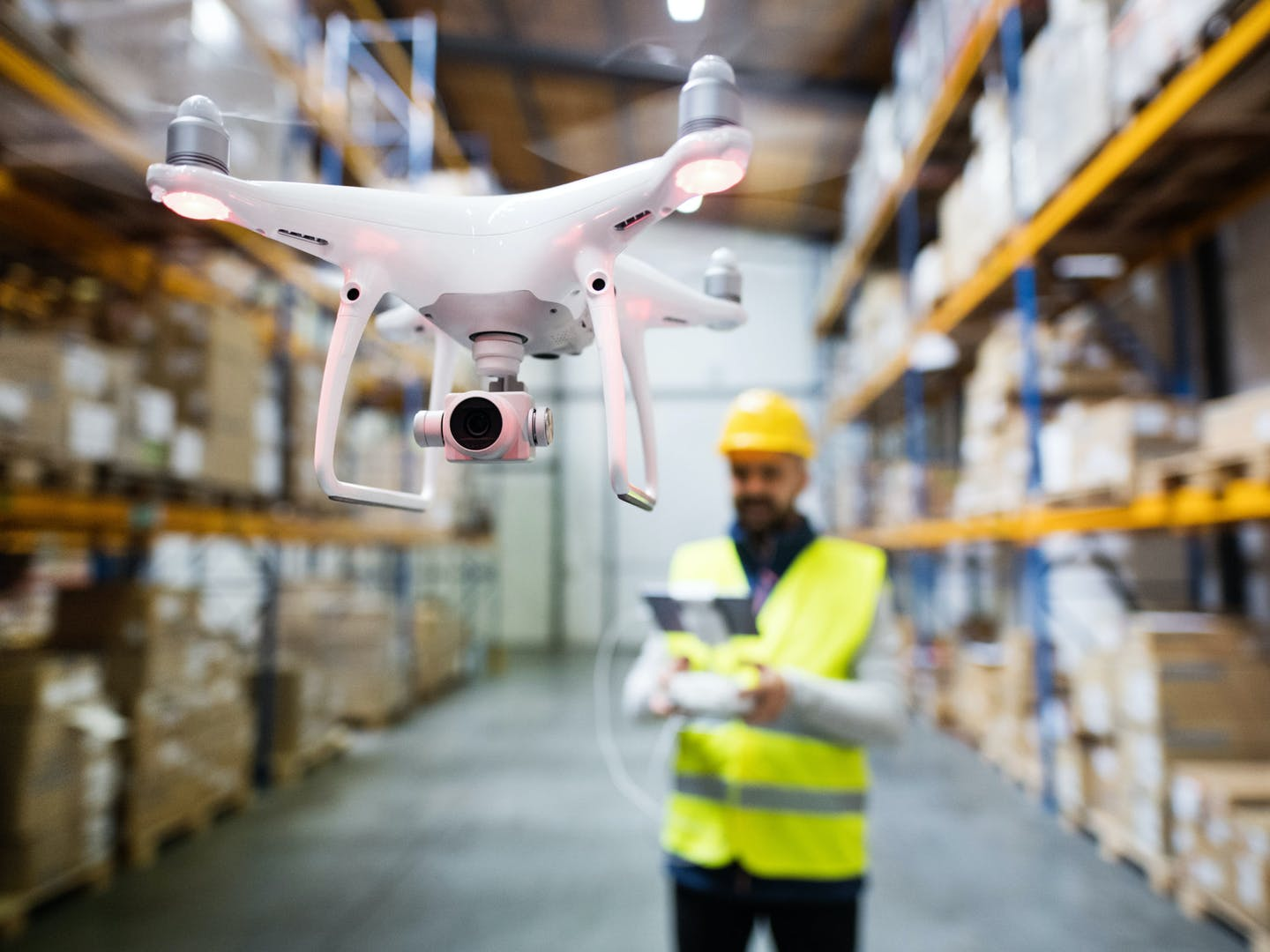 Should we trust drones with warehouse management