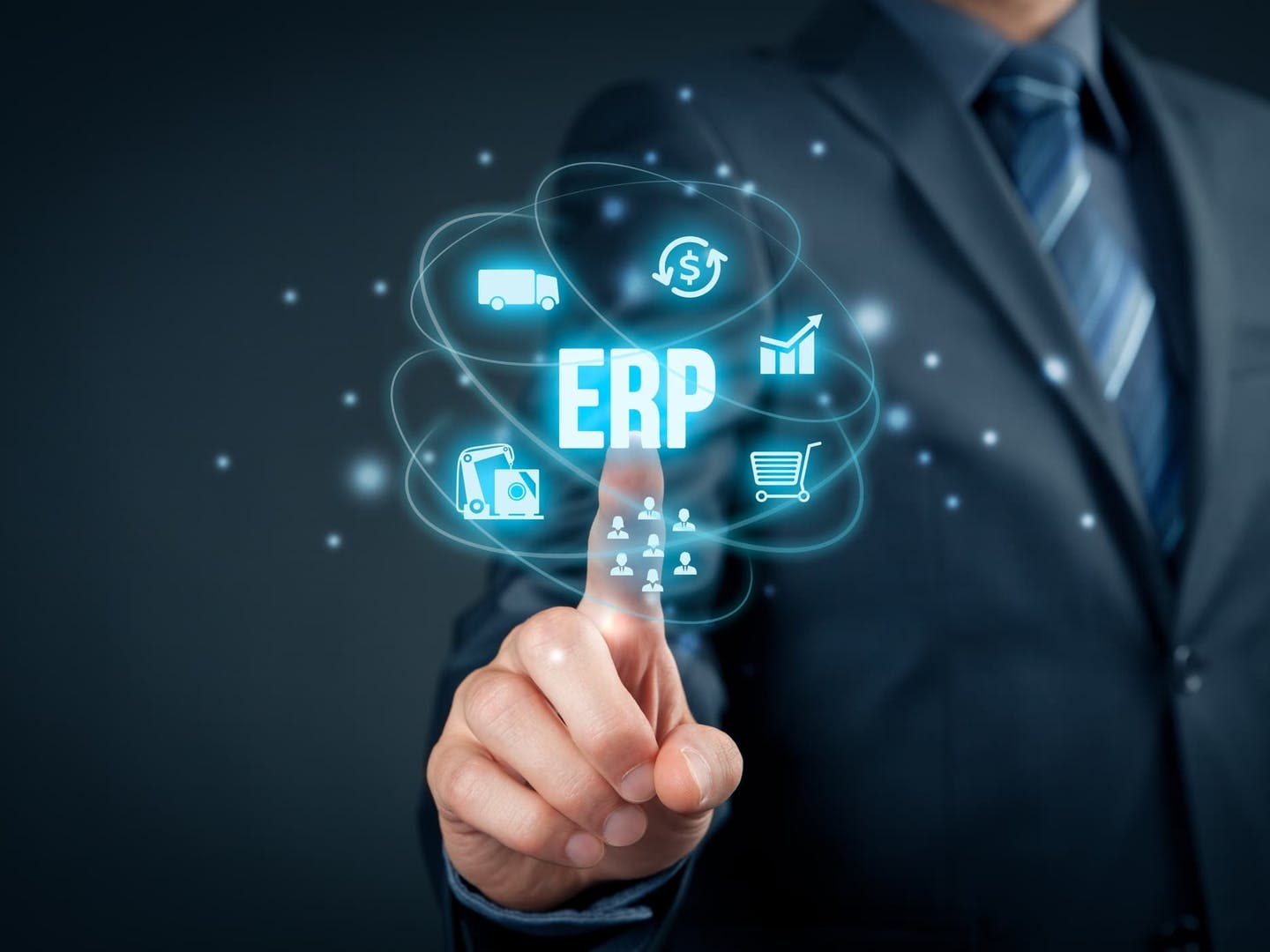 The benefits of cloud based erp