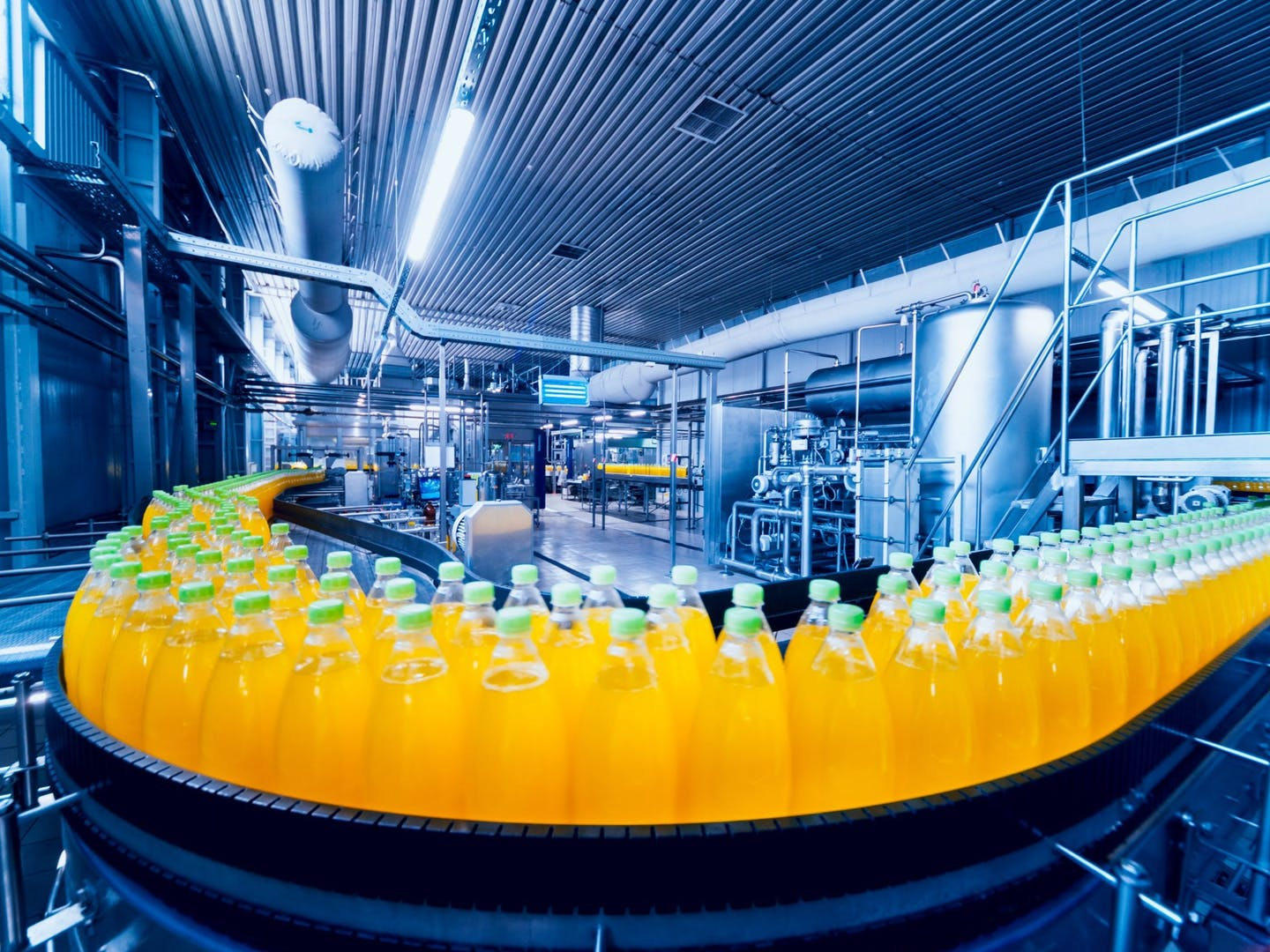 The history of food and beverage manufacturing