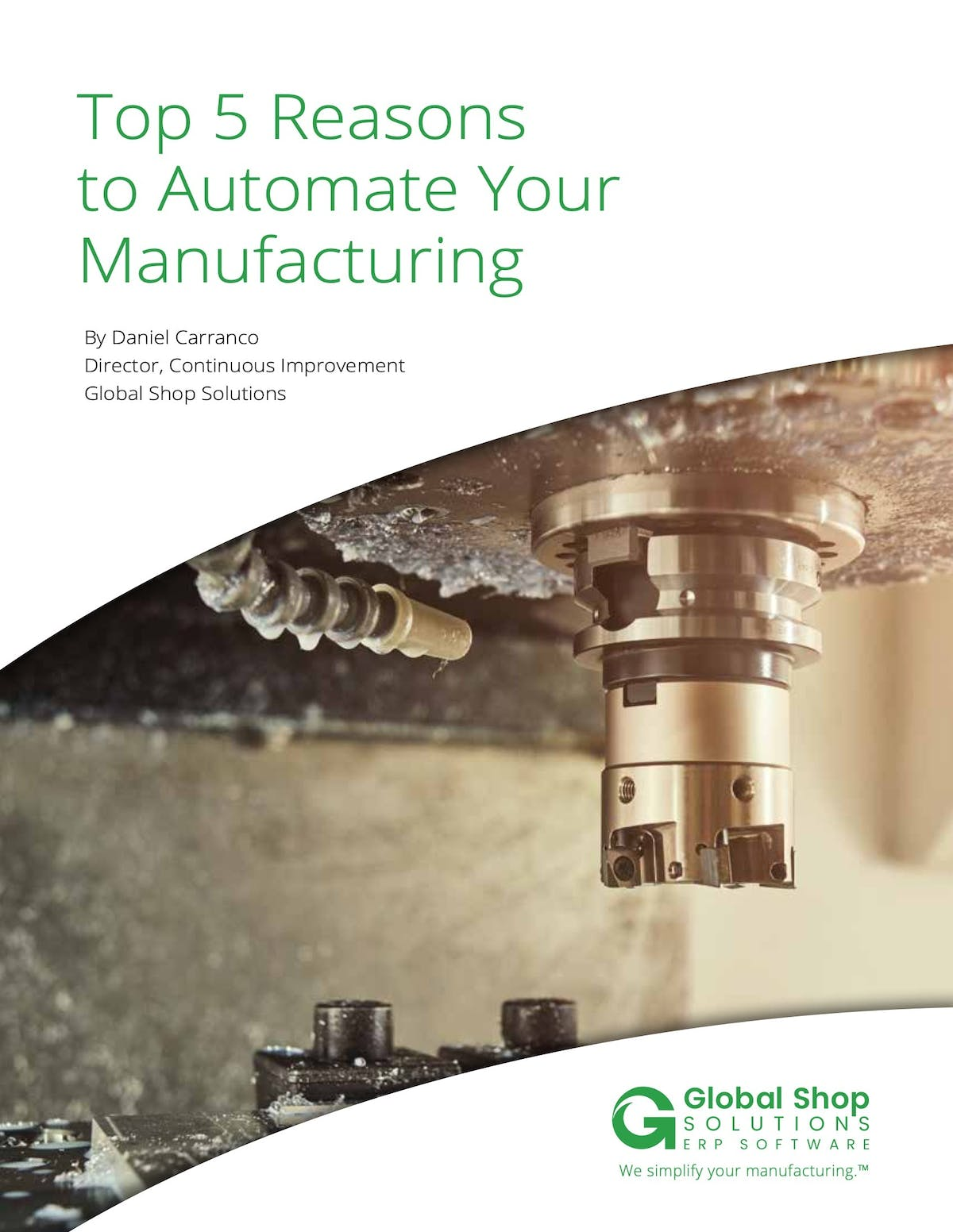 Global Shop Solutions White Paper - Top 5 Reasons to Automate Your Manufacturing