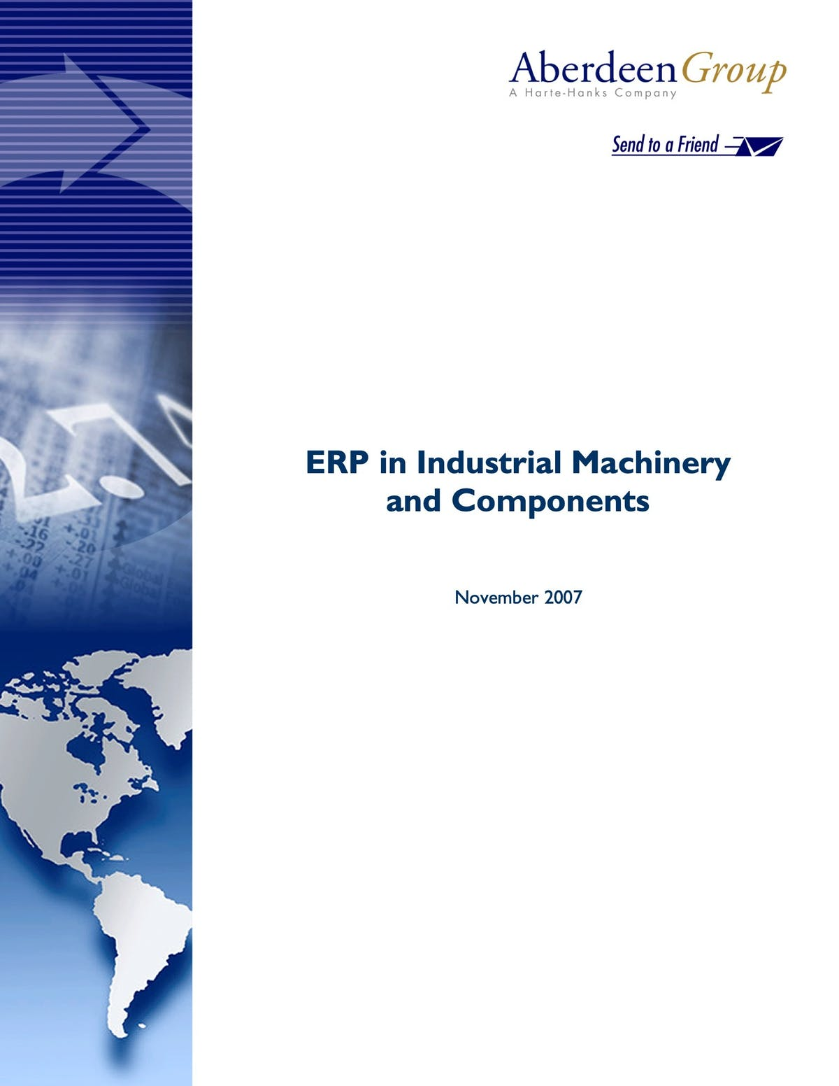 Infor VISUAL White Paper - ERP in Industrial Machinery and Components