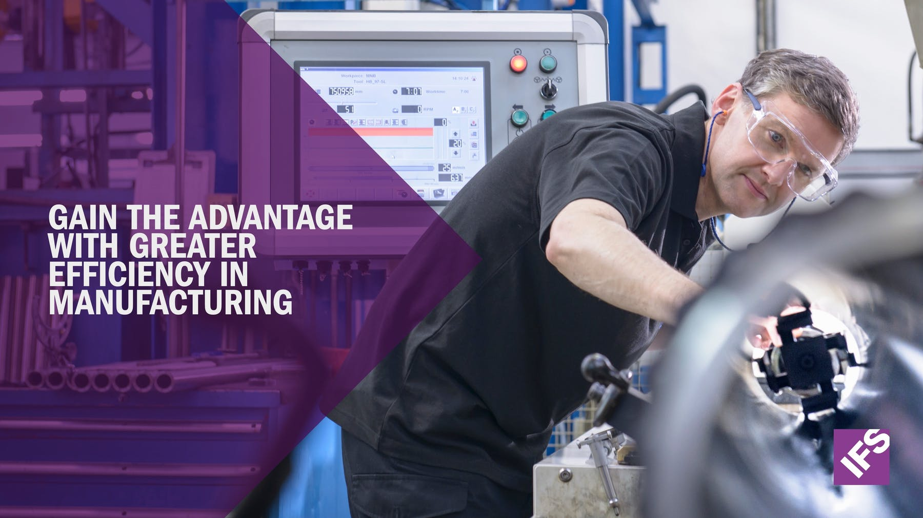 IFS Applications 10 White Paper - Gain the Advantage with Greater Efficiency in Manufacturing