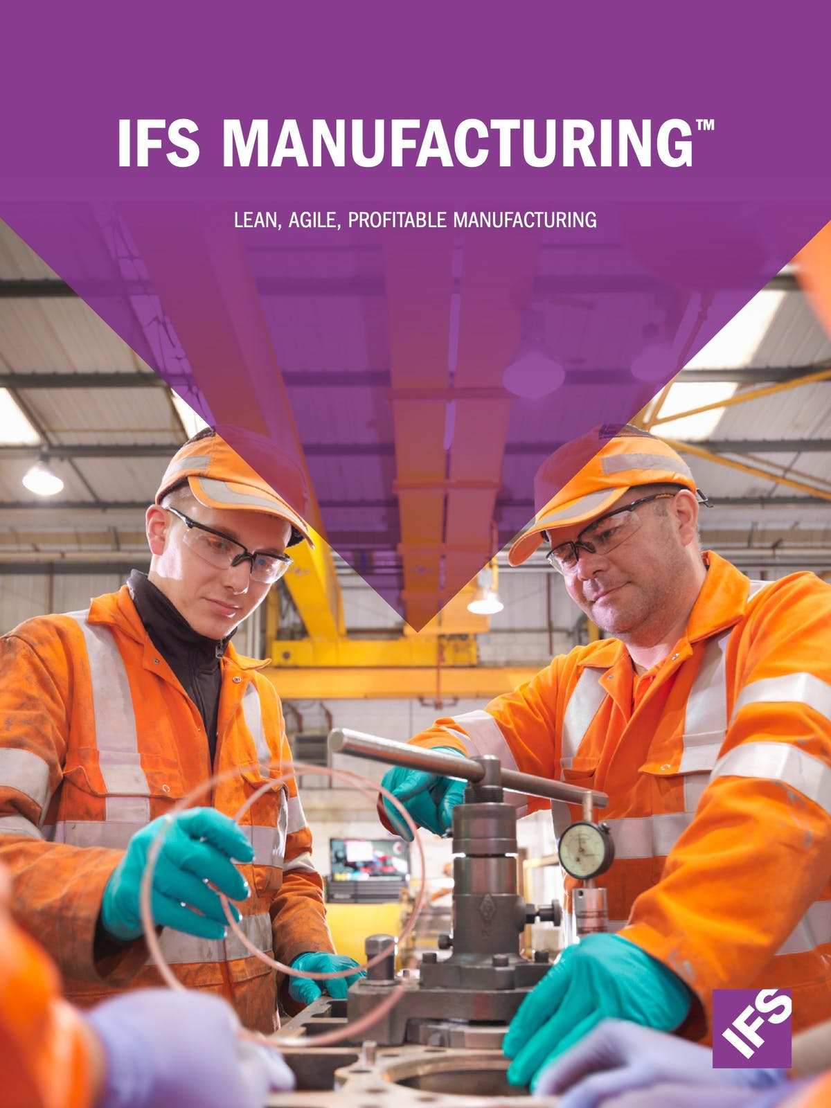 IFS Applications 10 White Paper - Lean, Agile, Profitable Manufacturing