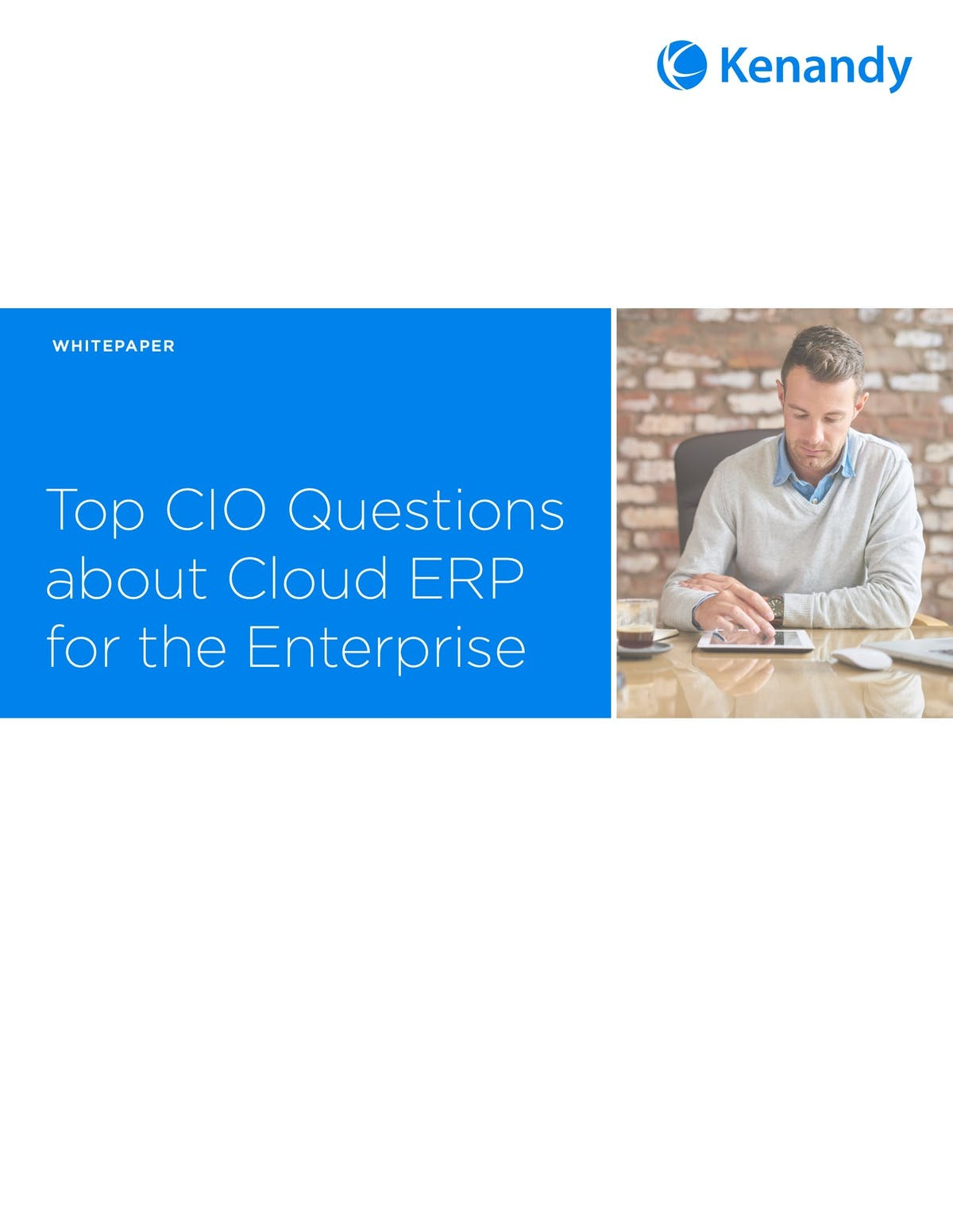 Kenandy ERP White Paper - Top CIO Questions About Cloud ERP for the Enterprise