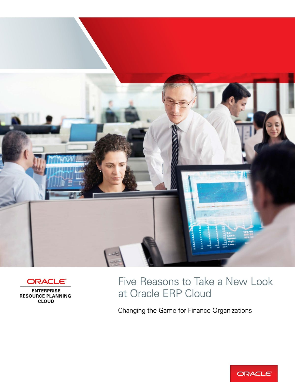 Oracle ERP Cloud Applications White Paper - Five Reasons to Take a New Look at Oracle ERP Cloud