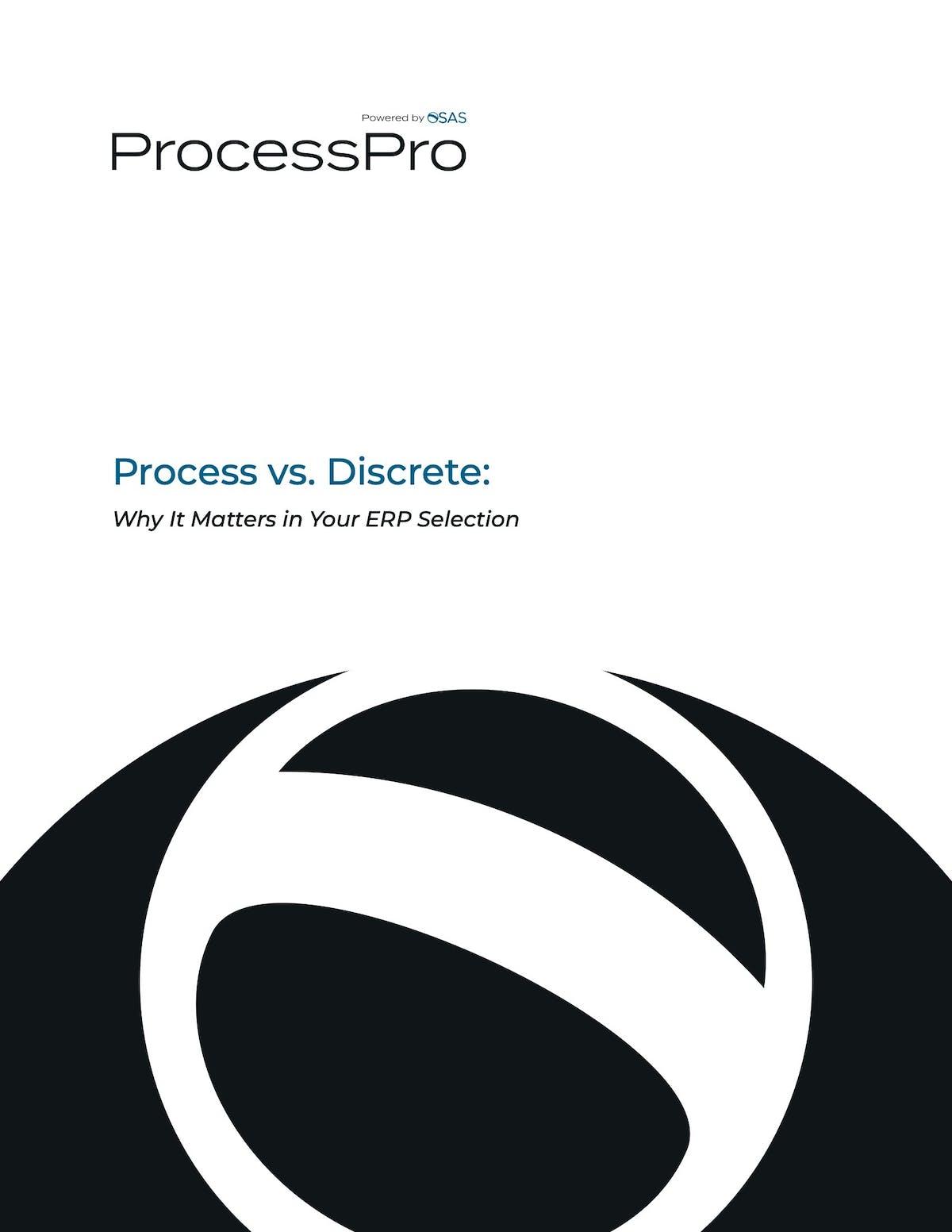 ProcessPro White Paper - Process vs. Discrete