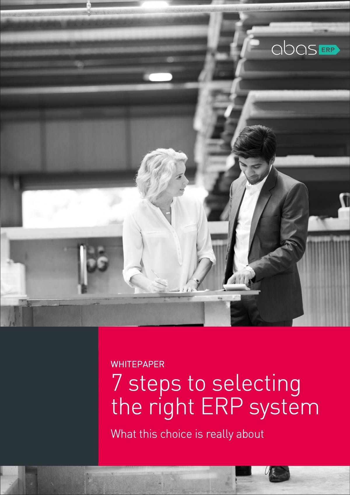 abas ERP White Paper - 7 Steps to Selecting the Right ERP System