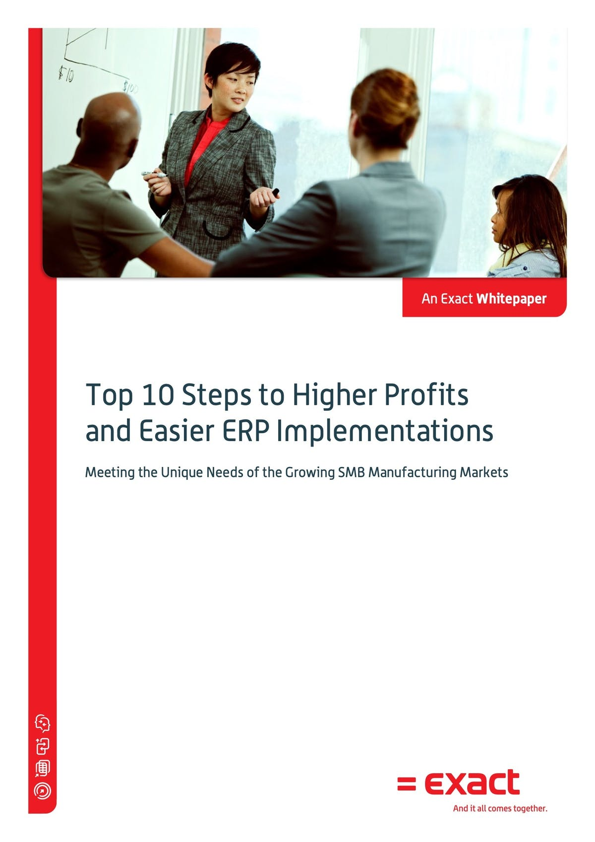 Macola Manufacturing Pro White Paper - Top 10 Steps to Higher Profits & Easier ERP Implementation