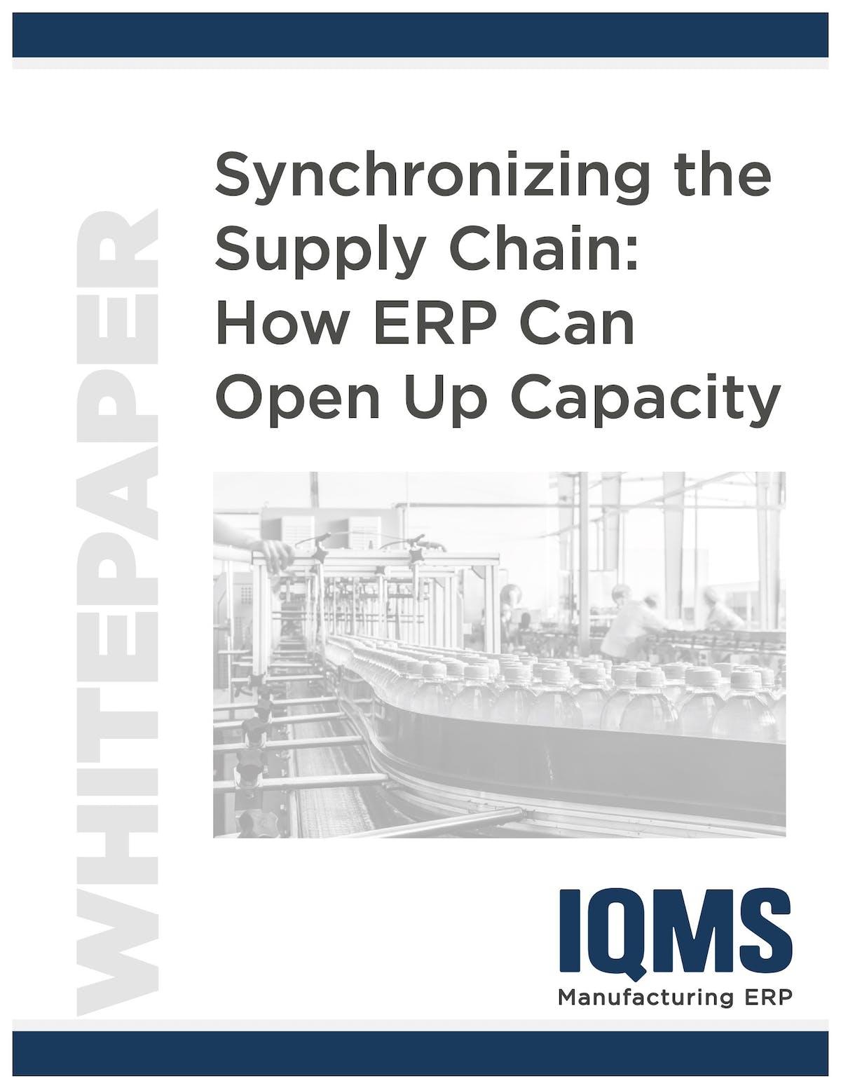 EnterpriseIQ White Paper - Synchronizing the Supply Chain